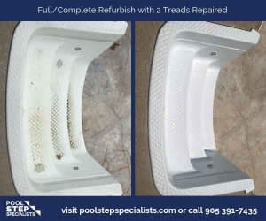 Full Complete Thermoplastic with 2 treads repaired
