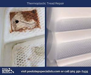 Thermoplastic Tread Repair