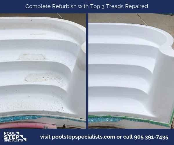 Complete Refurbish with Top 3 Treads Repaired