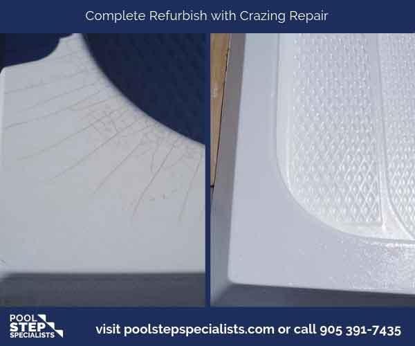 Complete refurbish with Crazing repair