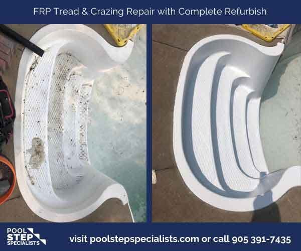 FRP Crazing & Tread Repair w Complete